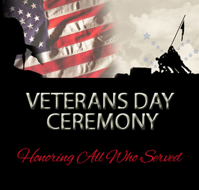 Veterans Day Ceremony 2018