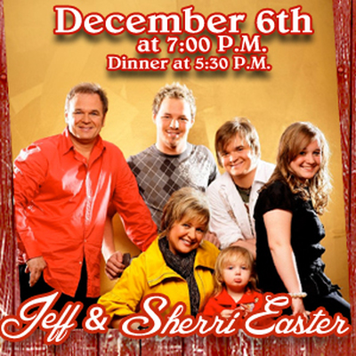 Red Barn Convention Center presents Jeff & Sheri Easter