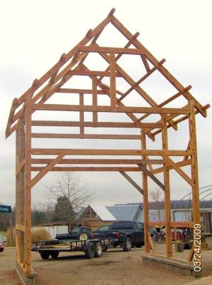 Pioneer Timber Framing