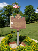 Bentonville Anti-Horse Thief Society Monument