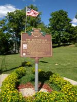 Bentonville Anti-Horse Thief Society Monument