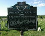 Covenanter Church Historical Marker