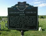 Covenanter Church Historical Marker