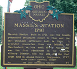 Massie Station Historical Marker